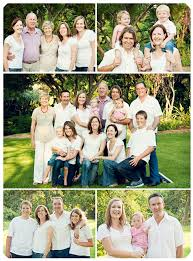 large family photographed outside in a park in pretoria south