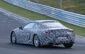 lexus lf lc blue spy shots lexus lf lc production prototype spotted page 5