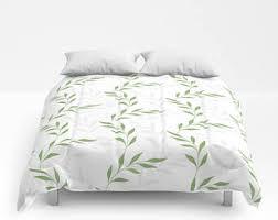 Duvet Without Cover Plant Duvet Cover Etsy