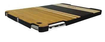 ecoshield home design reviews amazon com impecca eco shield natural wood case for ipad mini