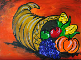 november painting montezuma township library
