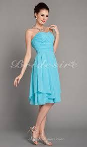 a linie herzausschnitt knielang chiffon brautjungfernkleid mit gestupft p551 bridesire hochzeitsparty kleider 2017 elegante hochzeitsgast