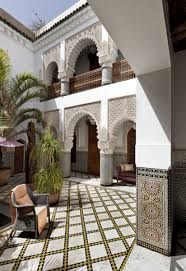 Homes With Courtyards by The Art Of The Moroccan Riad Metropolis