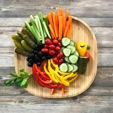 how to make a thanksgiving turkey veggie platter tastythin