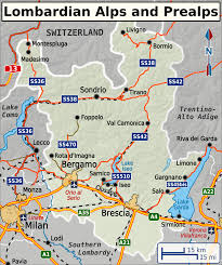 Lake Como Italy Map Lombardian Alps And Prealps U2013 Travel Guide At Wikivoyage