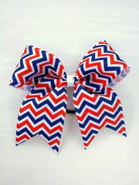 white and blue bows trio layer orange white black cheer bow on etsy 8 00 cheer