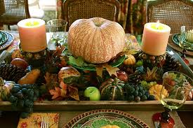 Fall Party Table Decorations - vignette design fall in love with succulents for fall