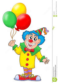 clown balloon l clown with balloons stock photo image 5653670