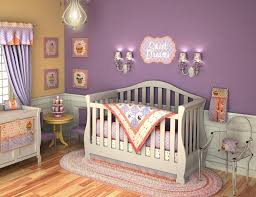 Full Bedroom Set For Kids Bedroom Design Charming Purple Walls And Baby Chest Of Drawers