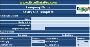 bac pro cuisine salaire corporate salary slip excel template exceldatapro