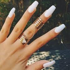 best 25 long white nails ideas on pinterest long nail designs