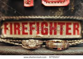 firefighter wedding firefighter wedding rings wedding corners