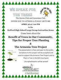 Tree Event We Speak For The Trees An Event Presented By The Environmental And