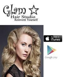 download our app u2014 glam hair studio