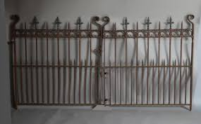 used wrought iron fence u2013 outdoor decorations