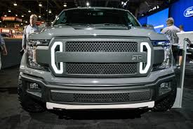 ford unveils 600 hp f 150 rtr muscle truck equipment world