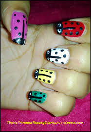 christabellnails ladybug nail art tutorial youtube ladybug nail