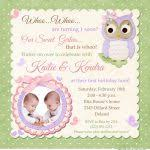 first birthday invitations for twins 104 best twins 1st birthday