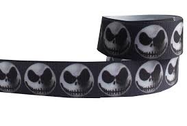 skellington ribbon nightmare before christmas skellington wholesale
