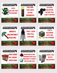 free printable minecraft valentines u2013 somebombmom