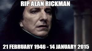 Professor Snape Meme - alan rickman tribute all professor snape s scenes from harry potter
