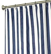 Shower Curtain Striped Shower Curtain Fabric Shower Curtains Blue