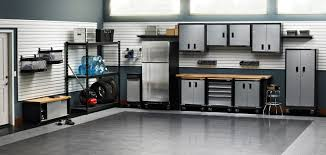garage workbench great tidy and efficient garage with husky