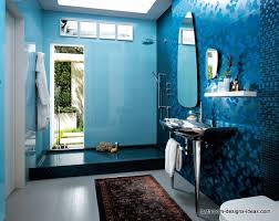 dark blue bathroom ideas bathroom wall blue bathroom blue mosaic