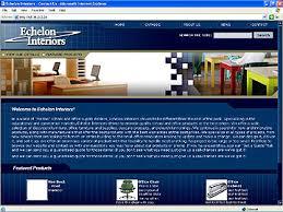 Echelon Interiors Web Design By Jeff Lindblom