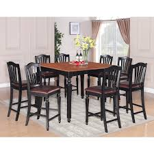 shop east furniture 9 piece dining set