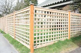 lattice fence with vines home u0026 gardens geek