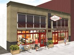 the market looks to fill a much needed niche downtown the grocery