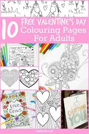 25 valentines colouring pages ideas