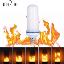 led flame effect fire light bulbs e27 led flame effect fire light bulb flickering flame l simulated
