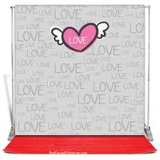 Photo Booth Backdrop Love Photobooth Backdrop Red Carpet Kit 8x8 U2014 Red Carpet Runner