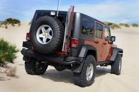 aev jeep rear bumper aev hi lift jack mount aev tire carrier ok4wd at ok4wd