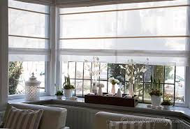 Window Covering Ideas For Large Picture Windows Decorating Spring Decorating On A Window Sill Roman Blinds Roman And Window