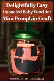 how to make a delightful baby food jar pumpkin sahm plus