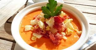 cuisine andalouse salmorejo soupe froide andalouse philandcocuisine recette