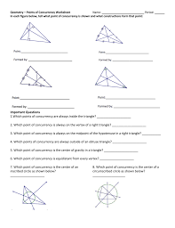 Angle Bisectors Worksheet Geometry Fall 2015 Lesson 021 019 Mp1 Worksheet Triangle Centers