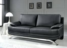 canap cuir noir but canape cuir noir canapac dangle en cuir de vachette noir davis droit