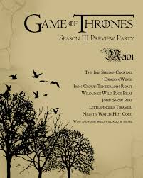 game of thrones s3 premier viewing party faraway universe