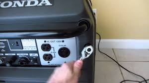honda eu3000is gasoline generator how to connect a battery