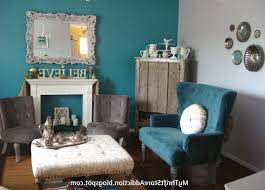 Grey And Turquoise Living Room Ideas by Turquoise Living Room Walls Brown Varnished Wooden Table Glass Jar