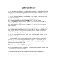 writing a persuasive letter in word and pdf formats