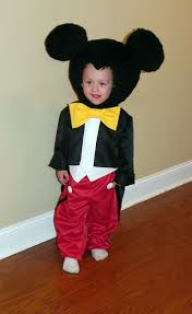 Mickey Mouse Toddler Costume Items Similar To Mickey Mouse Inspried Costume For Toddlers To