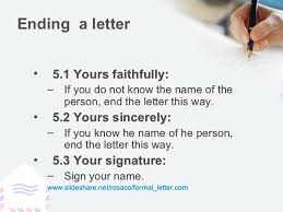 awesome collection of steps to writing a formal letter about