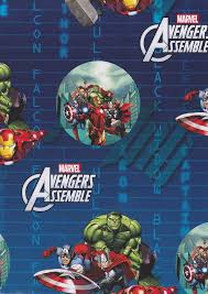 marvel wrapping paper the gift wrapping paper cardspark