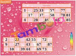 valentine theme tambola u0026 paper games 2016 u2013 kitty party games