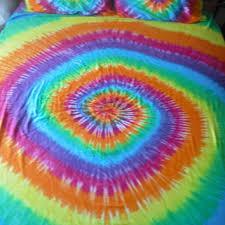 Tie Dye Comforter Set Shop Tie Dye Bedding On Wanelo